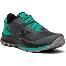 saucony Peregrine 11 Shoes Women, gris/Turquesa